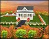 Sweet family fall house
