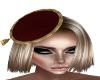 Aubrey Burgundy Hat