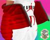 Kids Red Puffer Jacket