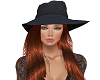 TF* Black Hat Red Hair