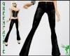 GF-Black Leather Pants