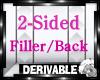 [TP] 2-Sided Filler/Back