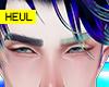 Hachi bicolor eyebrows
