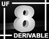 UF Derivable Digit 8