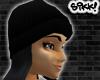 602 Black Skully Bk Hair