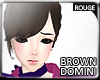 |2' Dominique Darkbrown