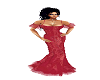 WH  Red Lace Gown
