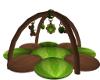 Green Baby Mat