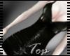 .Black Vinyl Dress.