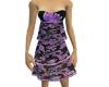 PurpleFloral 3tier dress
