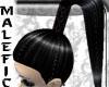 +m+ black ponygirl hair