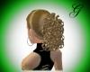 golden brown hair