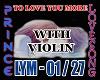 TO LOVE U MORE + VIOLIN