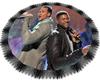 Romeo & Usher round rug