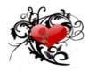 Heart/Rose Tattoo