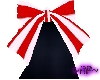 ~RP~ Red Stripes Bow