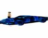 Blue Race Car Furniture