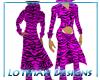 Pink Tiger Stripe Suit