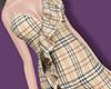 Plaid Ruffles bodysuit