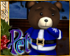 I~Pet Blue Xmas Bear