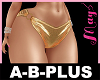 A-B-PLUS Bimbo Pant Gold