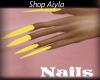 Long Yellow Nails