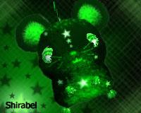 Green Star Glow Rat