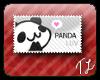 *cute little panda face*