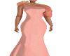 Clamour Peach Gown