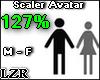 Scaler Avatar M - F 127%