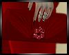 ~CHIC~Red Clutch Purse