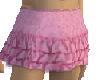 Mens pink ruffle skirt