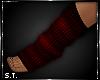 ST: Sweat : Socks Red