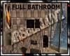 MATERNITY: full bathroom