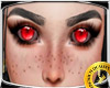 Demon Evil Girl Eyes RED
