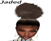 Copper Afro Ponytail