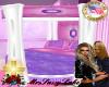 Teen Girls Canopy Bed