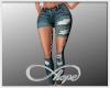 RL Ripped Jeans Dk (IH)