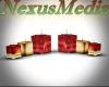 Christmas candle set