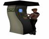 Animated ATM machine