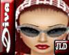 JLD~Diva Glasses Silver