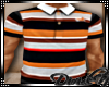 D: Akoo Striped Polo