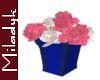 MLK Pink/White Roses