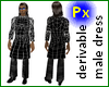 Px Layerable male dress
