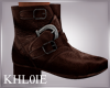 K brown male boots