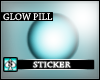(AS) Glow Pill -skyblu3