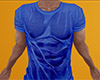 Blue Wet T-Shirt (M)
