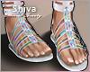 ❤ Summer Holo Sandals