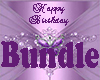 Purple Birthday Room