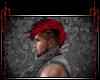 Mohawk Skull {Blk&Red}